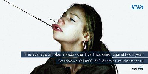 Znalezione obrazy dla zapytania kampania społeczna przeciwko paleniu kontrowersja